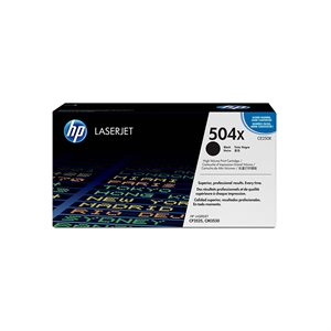 HP 504X Black High Yield Toner Cartridge (CE250X)
