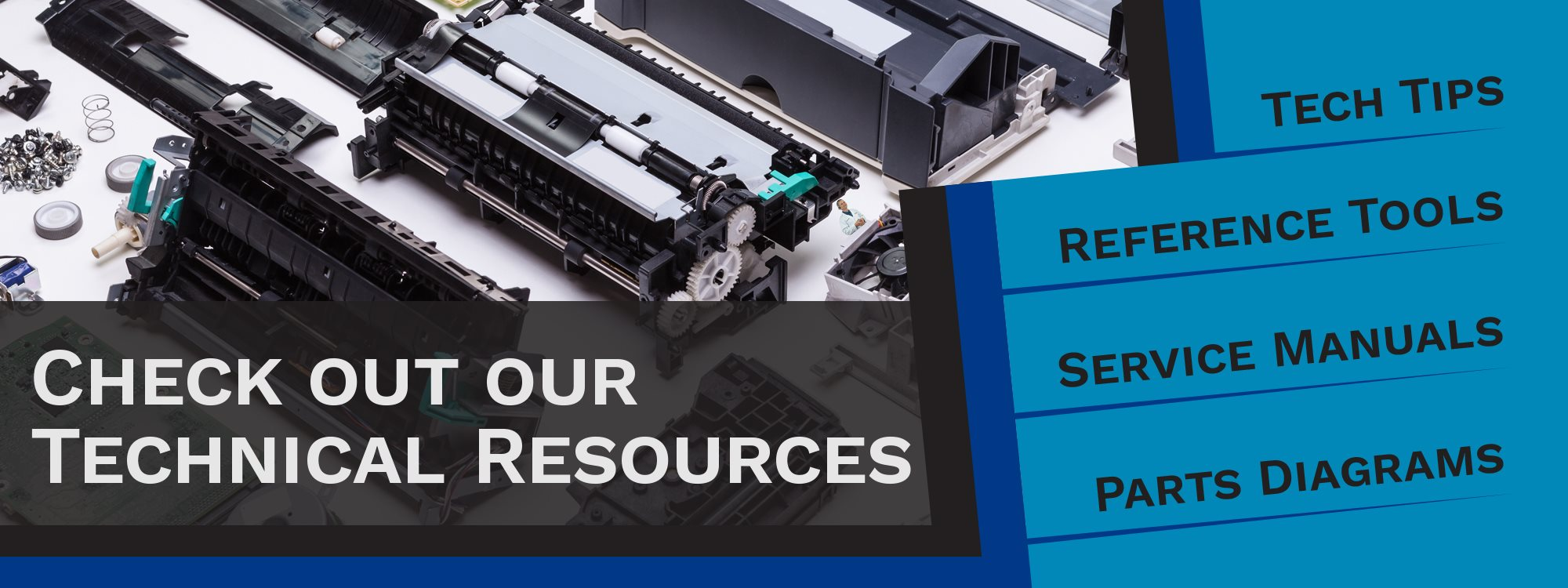 Check out our Technical Resources