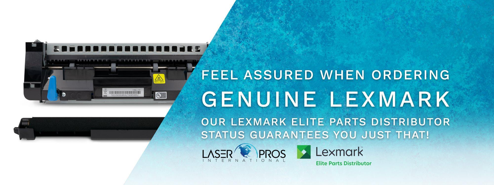Laser Pros International is your Lexmark Elite Parts Distributor