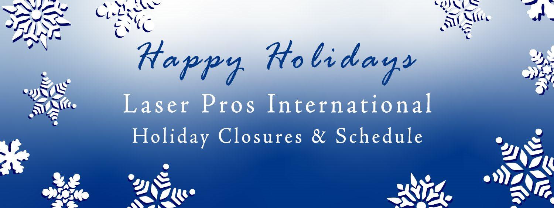 Holiday 2020 Closure