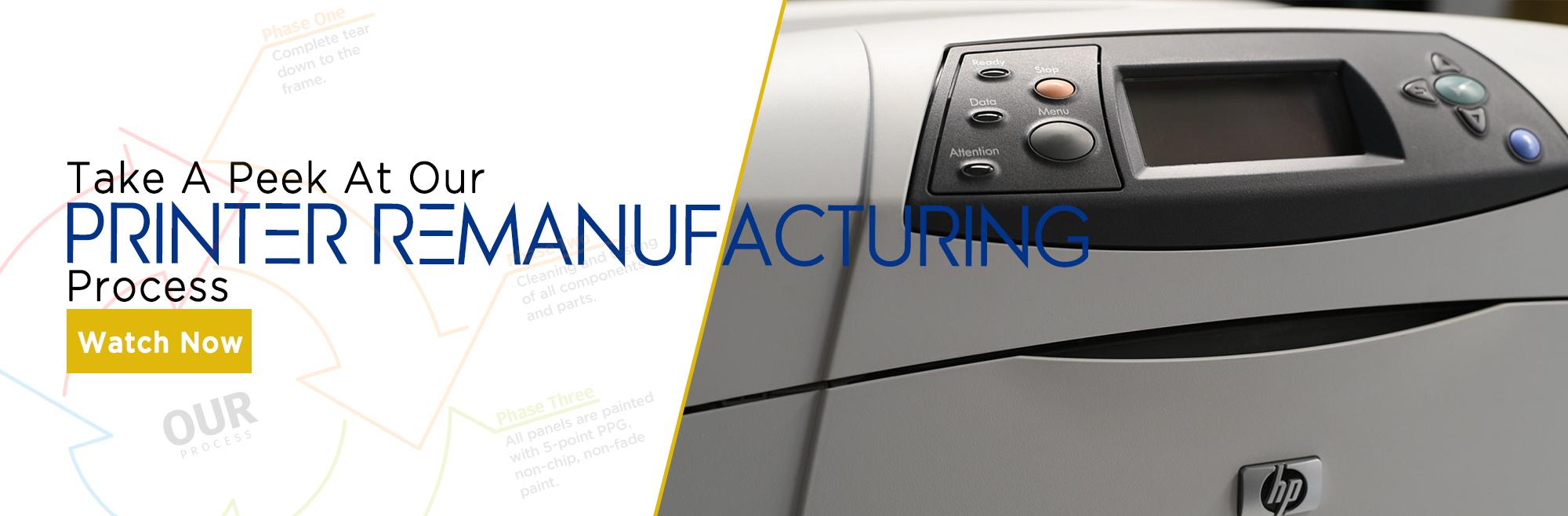 Gold Standard Printer Remanufacturing